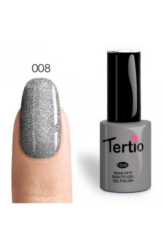 Гель лак tertio № 008