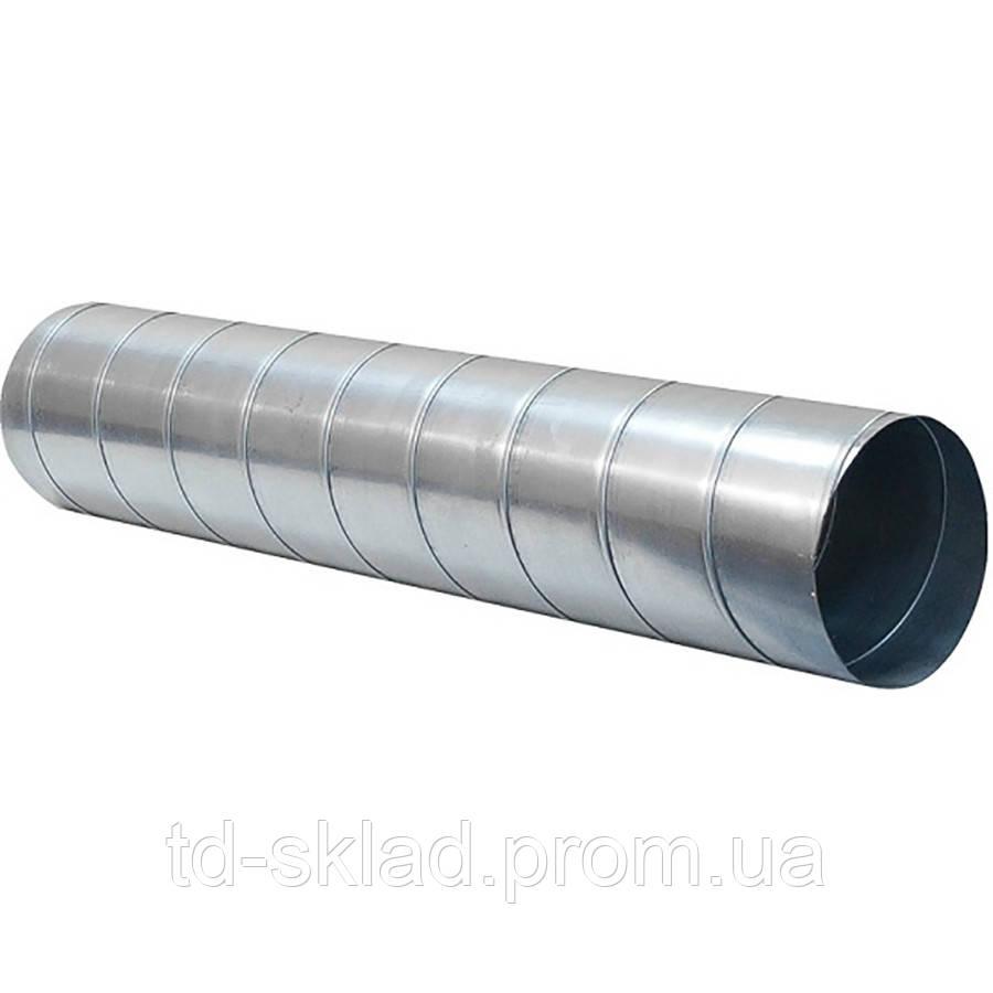 Воздуховод спирально-навивной Ø100