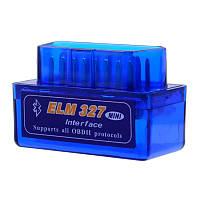 ➤OBD2 адаптер ELM327 Bluetooth mini v1.5 (SC03-L05) автомобильный для измерения показателей двигателя