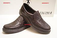 Мужские туфли-мокасины Тигина mod 1106к