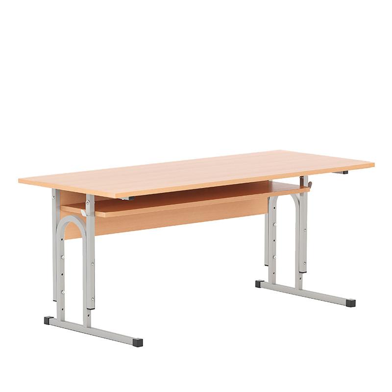 Стол ученический (дошкольный) E-184 PK alu (Новый стиль ТМ)