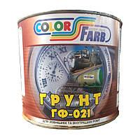 Грунт ГФ-021 красно-коричневая 2.8 кг по ТУ.  ДЕСТу(ГОСТ)