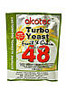 Alcotec Дрожжи спиртовые Turbo Yeast Fruit Grain 48