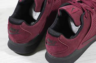 Мужские кроссовки Nike Air Presto.Бордовые , фото 3