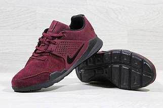 Мужские кроссовки Nike Air Presto.Бордовые , фото 2