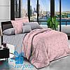 Двуспальное постельное бельё из хлопкового сатина БАРРИ (180*220)