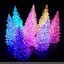 Светящаяся LED ёлочка (переливается разными цветами) 16 см