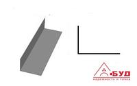Стальной оцинкованный гнутый L профиль, Г профиль, ЛСТК