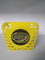 Корзина Green Cycle GCB-07 детская пластик желтая