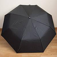 Классический мужской черный зонт 3025