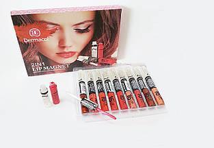 Набор блесков для губ Dermacol 16h 2in1