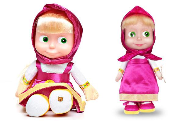 Тільки Опт !!! Мовець лялька Маша - (Повторює, Співає і Бігає!) 3 в 1