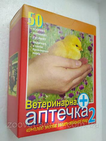 Ветеринарнаяаптечка для цыплят №2 (на 50 голов) ТМ Продукт, фото 2