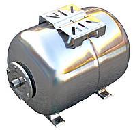 Гидроаккумулятор 50 л 10bar нержавейка горизонтальный