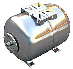 Гидроаккумулятор 100 л 10bar нержавейка горизонтальный