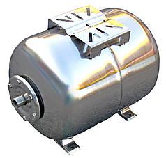 Гідроакумулятор 100 л 10bar нержавійка горизонтальний