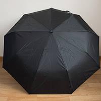 Классический мужской черный зонт F3805B