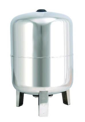 Гидроаккумулятор 100 л 10bar нержавейка вертикальный, фото 2