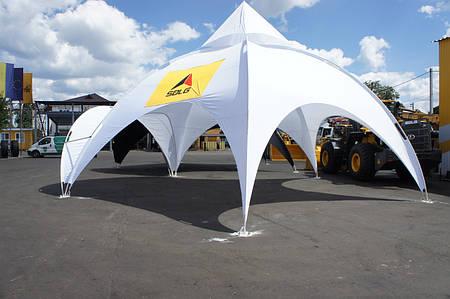 Купольный тент шатер DomeTent 6 м.