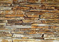 """Камень Сланец """"Серебряные пески"""" KLVIV торцевой 0.5 м.кв"""