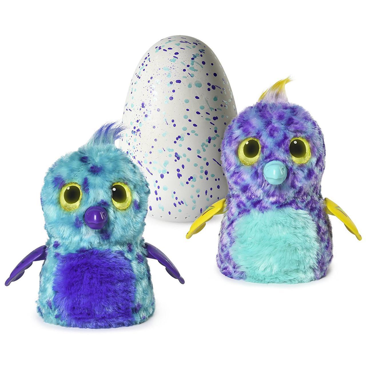 Интерактивная игрушка Хетчималс Попугастик в яйце Сказочный лес Hatchimals Fabula Forest Puffatoo