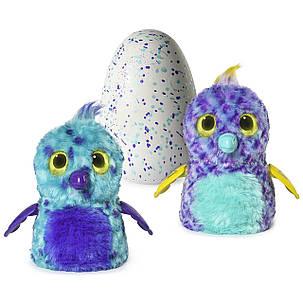 Интерактивная игрушка Хетчималс Попугастик в яйце Сказочный лес Hatchimals Fabula Forest Puffatoo, фото 2