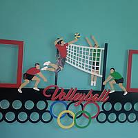 Медальница, вешалка для медалей, медальниця, вешалка для медалей волейбол 3