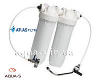 "Комплект фильтров (под мойку) Atlas Filtri BRAVO DUO 10"" (кран на мойку+кран подключения) RA6080003"