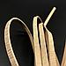 Декоративные кожаные шнурки . Цвет золото. 120см 5мм, фото 2