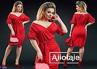 Вечернее платье T-1955 (54-56, 46-48, 50-52, 58-60) — купить Вечерние платья XL+ оптом и в розницу в одессе 7км