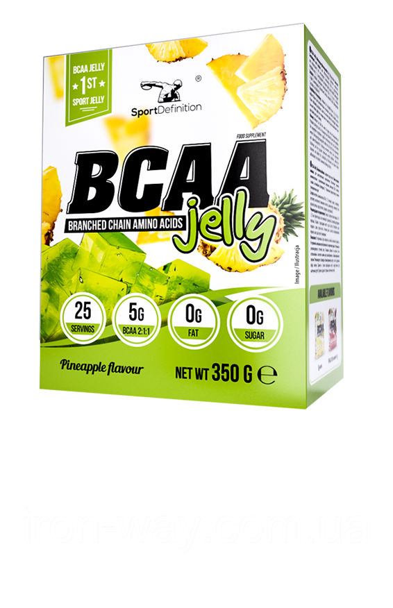 Sport Definition BCAA JELLY 350 g (Pineapple)