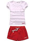 Шорты женские и футболка, комплект. Размеры 40-56.Мод. М-28.., фото 3
