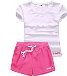 Шорты женские и футболка, комплект. Размеры 40-56.Мод. М-28.., фото 4