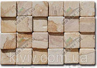"Мозаика из испанского песчаника ""ROSA VIDAL"" KLVIV 10х10см толщ.+-1см, фото 1"