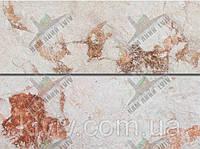 """Плитка руст из испанского мрамора """"CREMA VALENCIA """"/ MIX KLVIV 8 см х 22 см"""