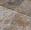 """Плитка облицовочная резаная из вьетнамского ТРАВЕРТИНА  """"TOSCANA"""" KLVIV 61x61cm толщ.1,2"""