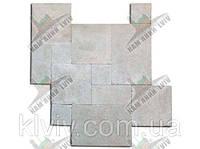 """Плитка облицовочная резанная (шлифованная) модуль из египетского мрамора  """"GALA CREAM""""  KLVIV  , фото 1"""