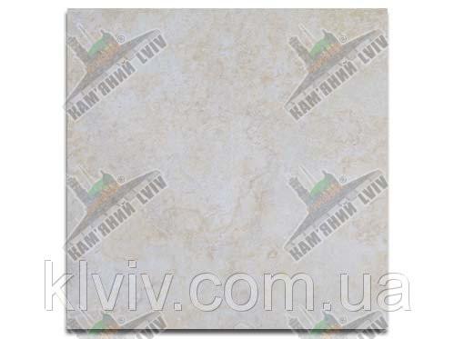 """Плитка облицовочная резаная (шлифованная) из египетского мрамора """"GALA CREAM"""" KLVIV 60x60см толщ.1,8 см"""