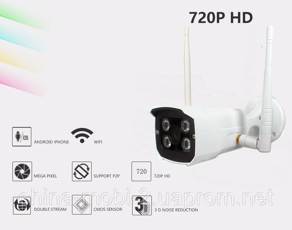 X8200-MJ36 NO433 WiFi HD720p DVR IP Onvif P2P CCTV защищенная камера с регистратором