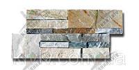 "Римская кладка облицовочная панель из турецького мрамора-сланца ""MARBLE KAYRAK"" GOLD"" KLVIV, фото 1"