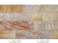 """Плитка облицовочная из индийского сланца """"Indian Wood """" KLVIV шир. 10 см x L"""