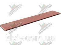 """Ступени/Подоконники полнопиленые шлифование из индийского песчаника """"Indian Claret"""" KLVIV толщ.3см шир.32x100 см"""
