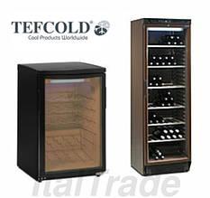 Шкафы винные холодильные Tefcold (Дания)