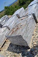 """Плитка Сланец """"Серебреные пески"""" KLVIV торцованная  ширина 10 см., фото 1"""