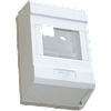 Коробка пластиковая без крышки под 3-6 автомата