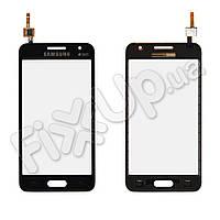 Тачскрин Samsung Galaxy Core 2 G355H, цвет черный, на 2 sim карты, ревизия 3, копия высокого качества
