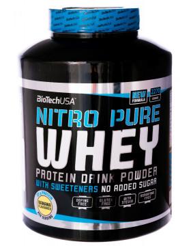 Протеин BioTech USA Nitro Pure Whey 2270g