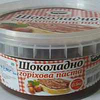 """Шоколадно-ореховая паста """"Галицкие традиции"""" 500гр"""