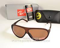 Солнцезащитные очки Ray Ban Highstreet RB4112 Polarized brown поляризация  коричневые реплика 1169633e3d0
