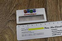 Пластиковые бейджи с оракаловой наклейкой